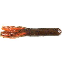 """Dry Creek Tube 3-1/2""""  Red Hot Craw"""