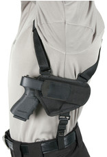 BLACK HAWK PRODUCTS Blackhawk Horizontal Shoulder Holster 5 Shot Revolvers, LG