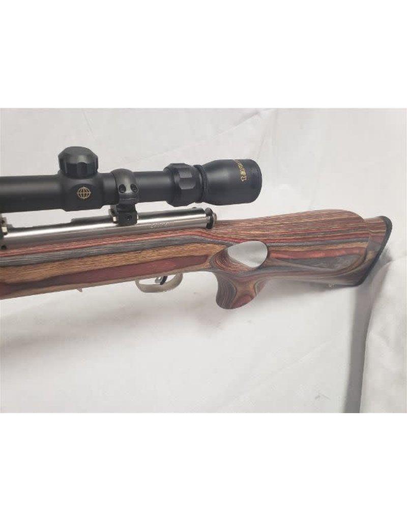 Savage Model 93R17 Stainless Heavy bbl .17 HMR