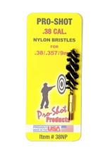 Pro-Shot Nylon Pistol Brush - .38/357 Cal.-.9mm