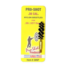Pro-Shot Nylon Pistol Brush - .38/357 Cal.-.9mm