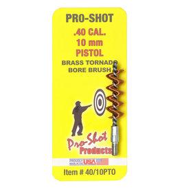 PRO-SHOT Pro-Shot Brass Tornado Brush - .40 Cal / 10mm
