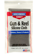 "BIRCHWOOD CASEY BWC Gun & Reel Silicone Cloth Cleaning Cloth 14.4""x 15"""