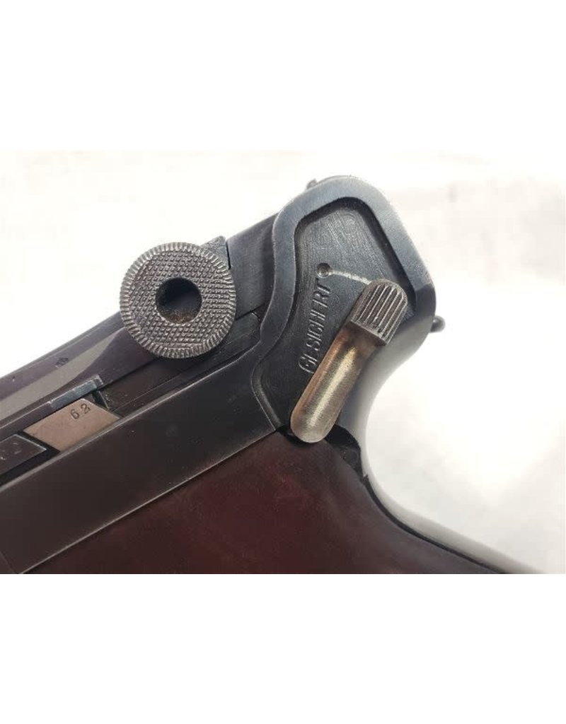 ".30 Luger ""Gesichert"" Safety w/ Leather Holster"