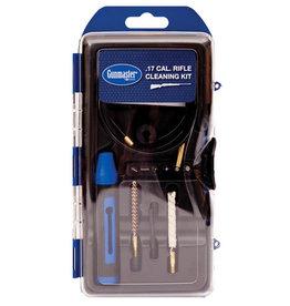 GunMaster GunMaster .17Cal Rifle Cleaning Kit w/Pull Through Rod &