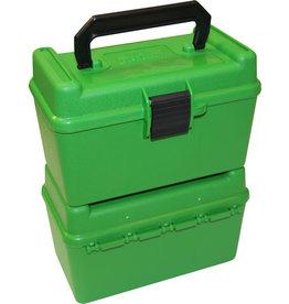 MTM MTM Deluxe w/ Handle - 50 Count - Green