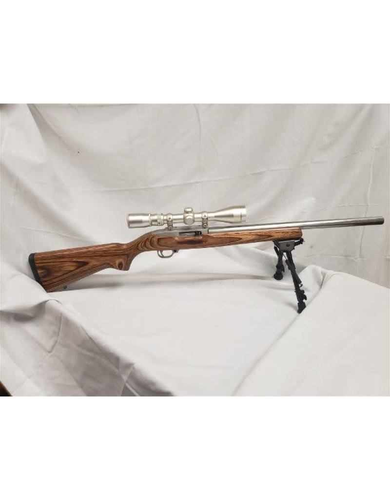 Ruger 10/22T .22 LR Hammer Forged bbl, 3.5-10x40 Simmons Scope & Bipod