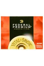 "Federal Federal Premium Vital-Shok Buckshot 12 GA, 3-1/2"" 00B 18 Pellets - 5 Counnt"