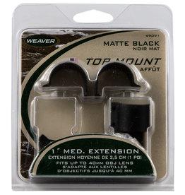 "WEAVER Weaver Top Mount Extension Rings 1"" - Medium"