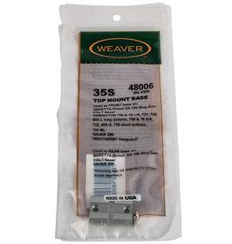 WEAVER Weaver Top Mount Base #35s (Silver) - BSA/Colt/ Beretta/Moss/Rem/Wthby