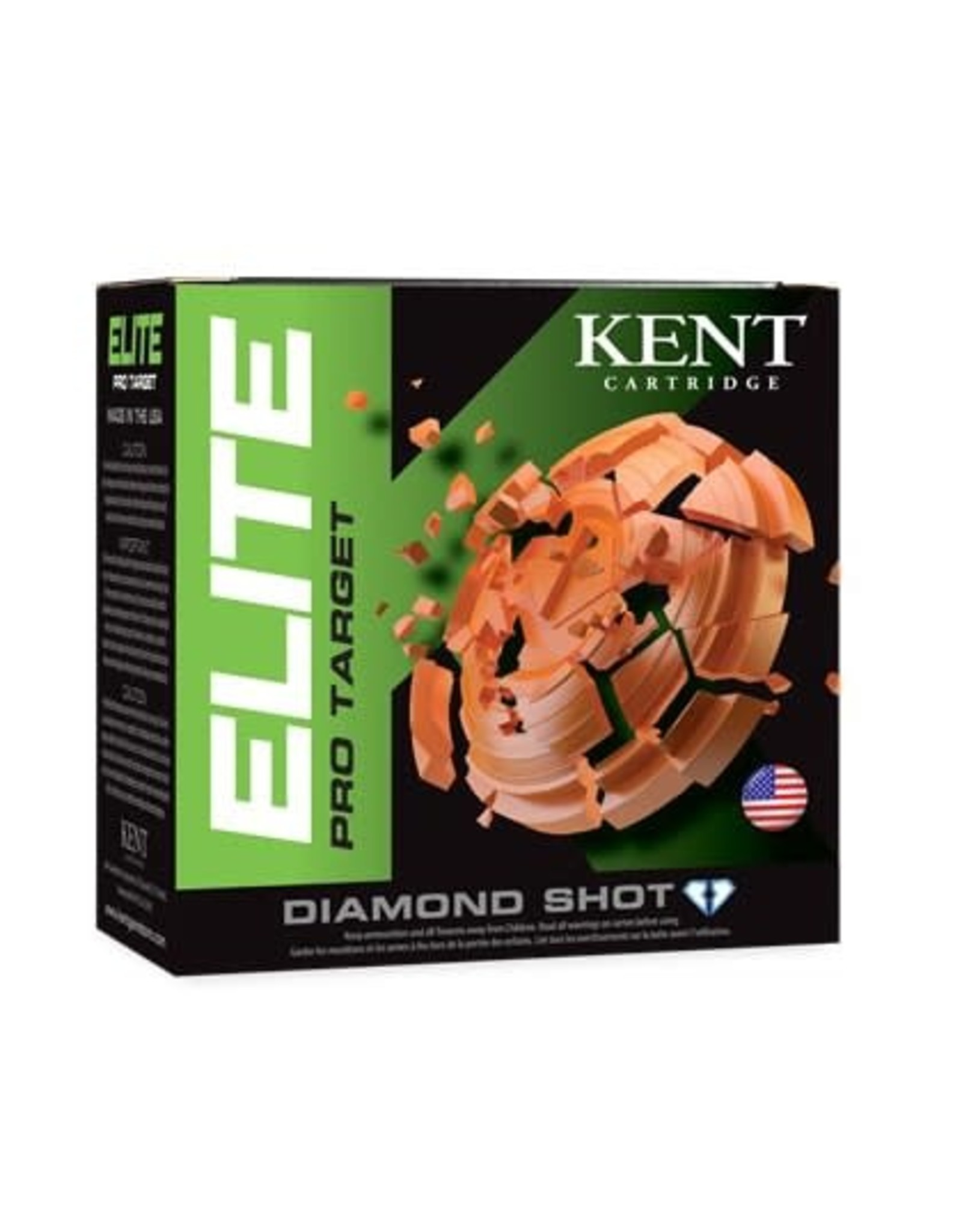 "KENT CARTRIDGE Kent Pro Target E12PSC32-8 12 ga 2-3/4"" 1-1/8 Oz #8"