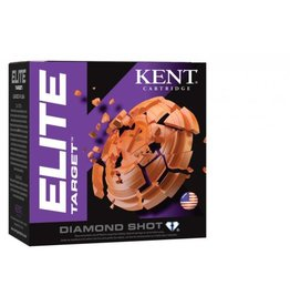 "KENT CARTRIDGE Kent Elite Target E12T28-8 12ga 2-3/4"", 1 Oz., #8 - Case"