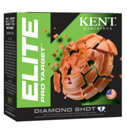 "KENT CARTRIDGE Kent Pro Target 12 ga 2-3/4"" 1-1/8 Oz #7.5 1300 FPS - Case"