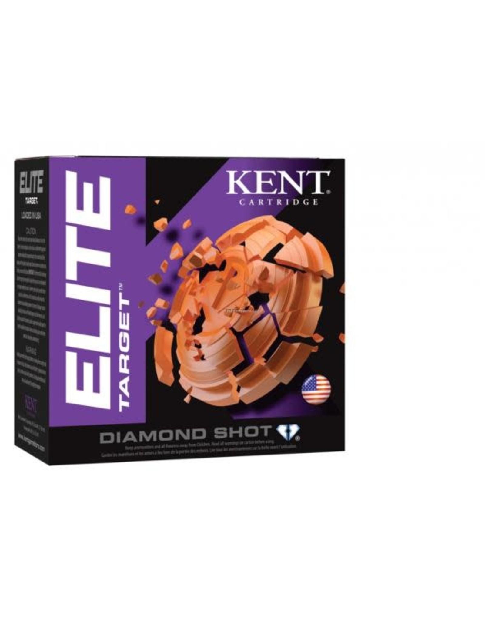 "KENT CARTRIDGE Kent Elite Target E12T32-7.5 12ga 2-3/4"", 1-1/8 Oz., #7.5 FPS 1150"