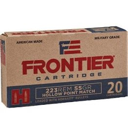 Frontier Hornady Frontier 223 Rem 55 Gr HPMatch - 20 Count