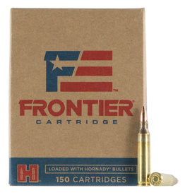 FRONTIER CARTRIDGE Hornady Frontier 5.56 NATO 55 Gr FMJ 150 Round