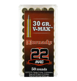 Hornady Hornady Varmint Express .22 WMR 30 gr V-Max 50 Count