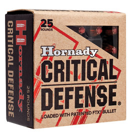 Hornady Hornady Critical Defense Pistol Ammo 25 ACP, 35 Gr, FTX 25 Count