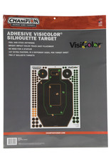 CHAMPION TARGETS Champion Silhouette Adhesive Visicolor Target