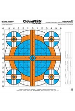 CHAMPION Champion Re-Stick 100yd Rifle Sight-In Target Target 16x16