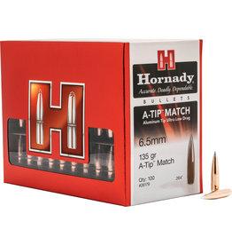 Hornady Hornady 26179 A-Tip Match Rifle Bullet, 6.5MM .264 135 Gr, 100 Box