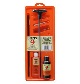 HOPPES Hoppes Cleaning Kit .17-.204 Caliber, W/ 3 Piece Steel Rod