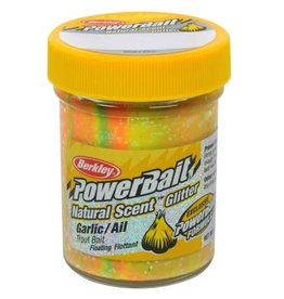 Berkley Power Bait Glitter Trout Bait - Garlic Rainbow