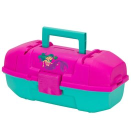 Plano Plano Youth Tackle Box - Magenta/Teal Mermaid