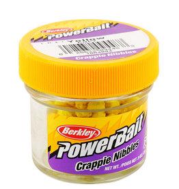 Berkley Power Bait Crappie Nibbles - Yellow Original Scent