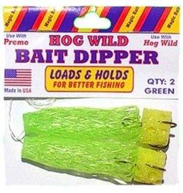 Magic Bait Magic Bait 48-33 Hog Wild Bait Dipper Grn Dip Worm
