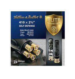 """SELLIER & BELLOT S&B .410 2-1/2"""" 15 Pellets 000 Buck Shot 25 Count"""