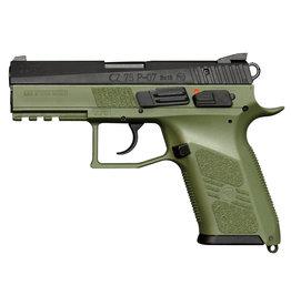 """CZ CZ P-07 9mm 3.75"""" bbl OD Green 10+1 Round"""