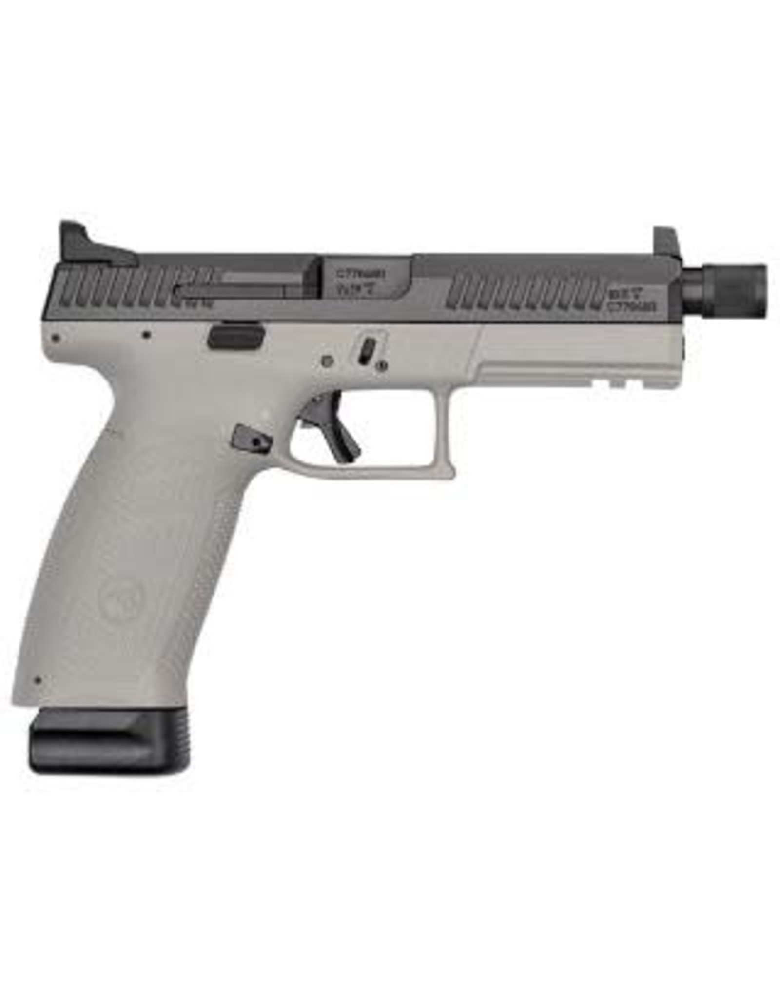 "CZ P-10 F 9mm Urban Grey 21+1 Round 5"" bbl"