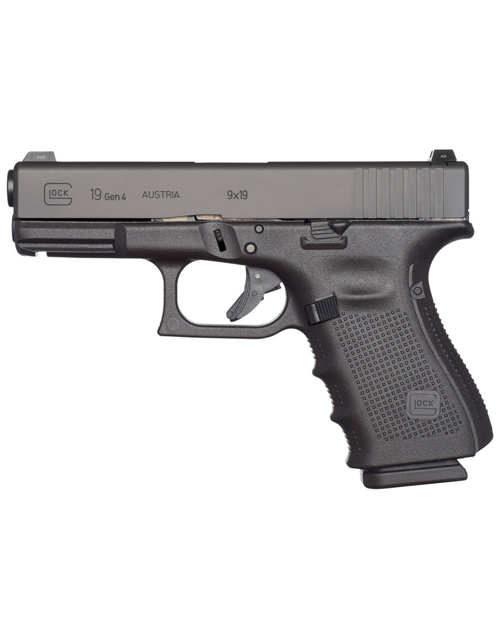 """Glock 19 Gen 4 9mm 4"""" bbl 15+1 Round"""