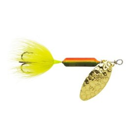 Wordens Rooster Tail 1/6 Oz - Hammered Brass Firetiger