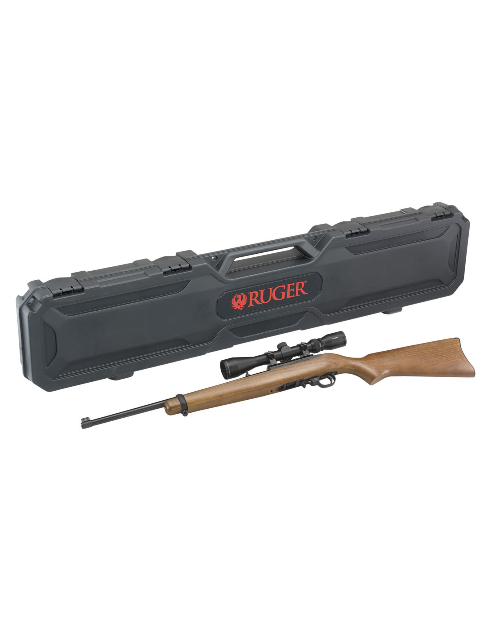"Ruger 10/22 Carbine 22 LR 10+1 18.50"" w/ Viridian EON 3-9x40mm & Hard Case"