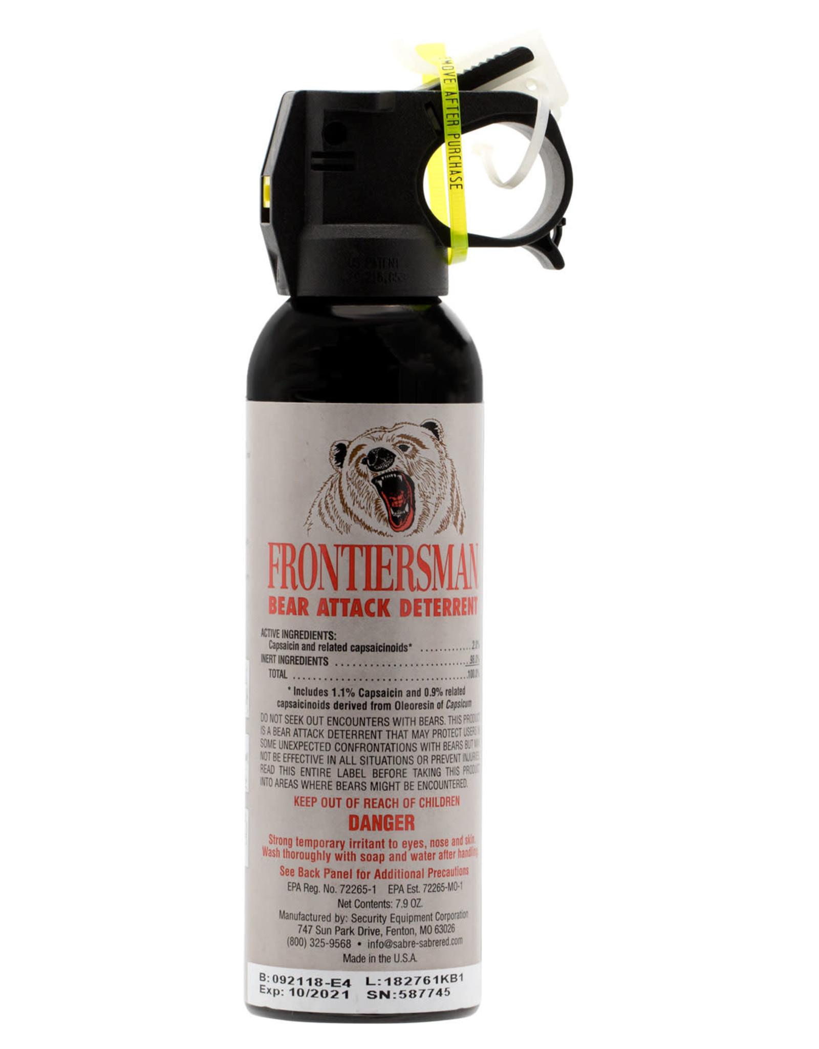 SABRE Sabre Frontiersman Bear Spray 7.9 Oz.