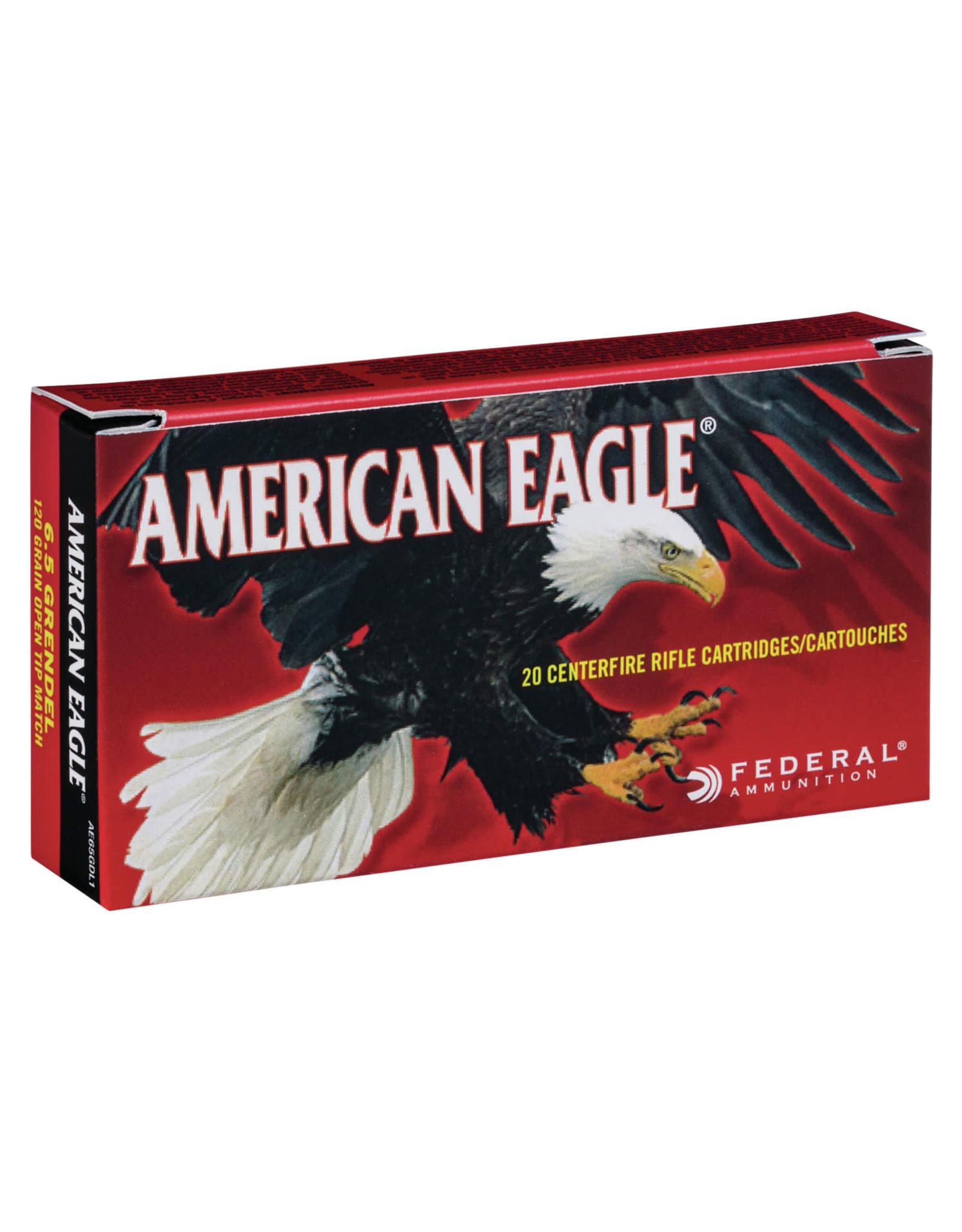 Federal Federal 6.5 Grendel 120 Gr Open Tip Match - 20 Count