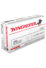 WINCHESTER Winchester .25 ACP 50 Gr FMJ - 50 Count