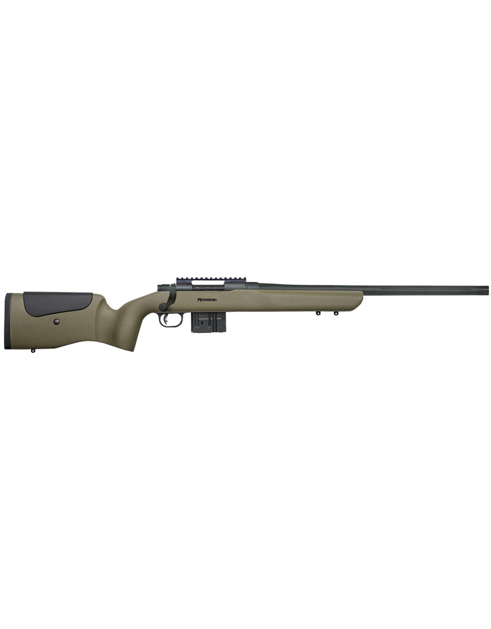 MOSSBERG Mossberg 27697 MVP LR Bolt Rifle 308 WIN, RH, 20 in, Blued, Syn