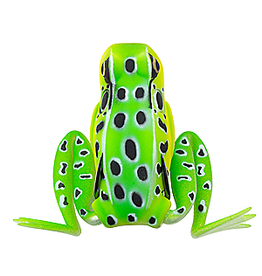 """Lunkerhunt Lunkerhunt Popping Frog Hollow Body Frog, 2 1/4"""" at Rest/1"""