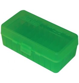 MTM MOLDED PRODUCTS MTM Flip Top - 50 Round - Green