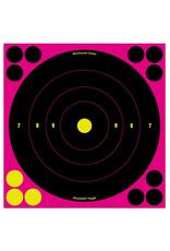 BIRCHWOOD CASEY BWC Shoot-N-C Pink Adhesive Targets - 6 Count - 72 Repair Pasters