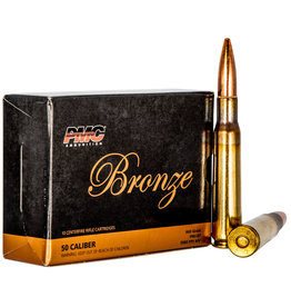 PMC PMC Bronze 50 BMG 660 Gr FMJ-BT - 10 Count