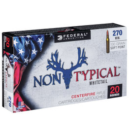 Federal Federal Non-Typical .270 Win 130 Gr SP - 20 Count