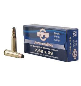 TR & Z USA PPU 7.62x39mm 123 gr SPRN - 50 Count