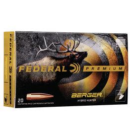 Federal Premium 6.5 Creedmoor Berger Hybrid Hunter 135 gr - 20 Count