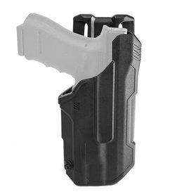 Blackhawk T-Series L2c Black Polymer - Glock 19/19x/23/26/27/32/33/45