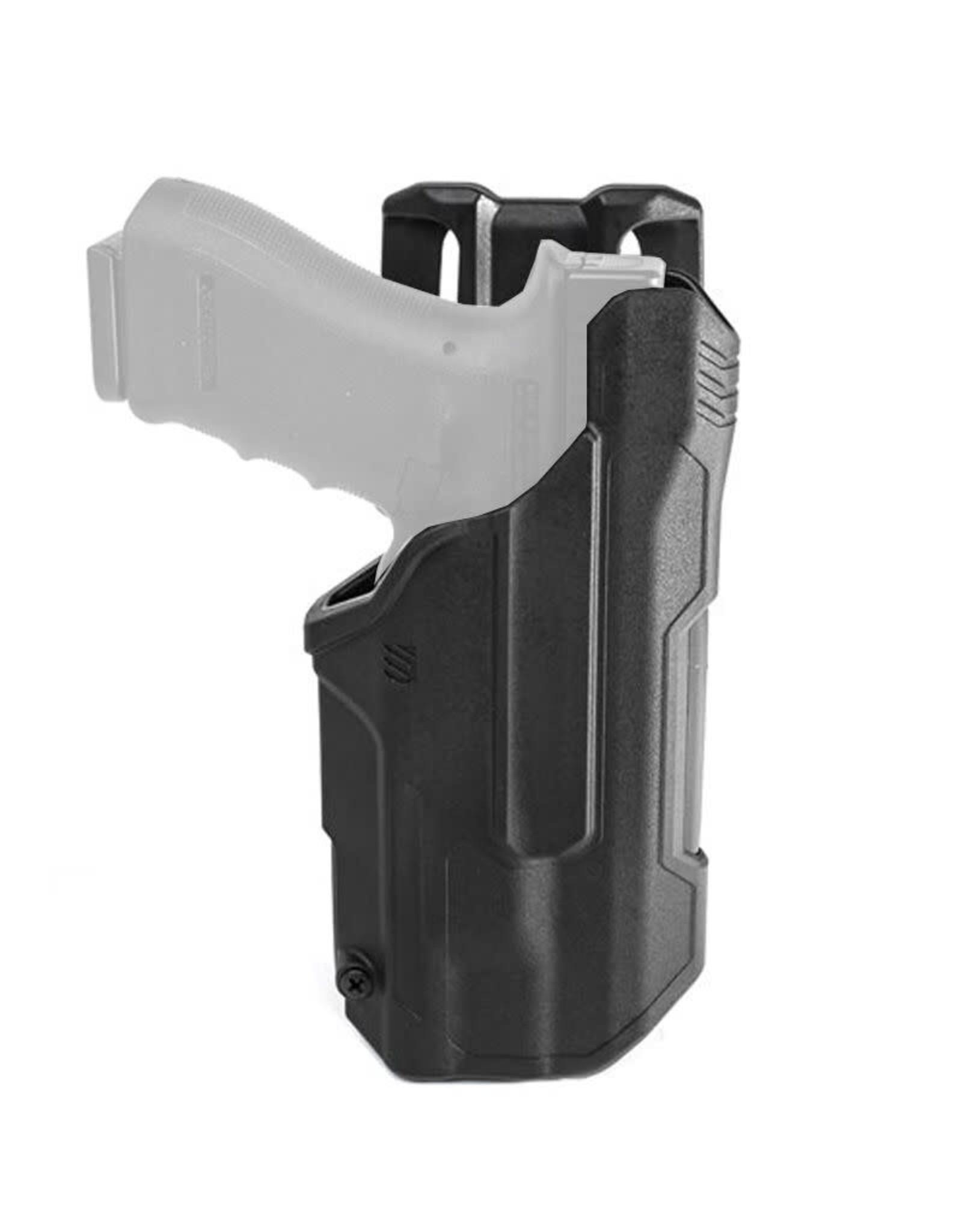 Blackhawk T-Series L2c Black Polymer - Glock 17/19/22/23/31/32/45