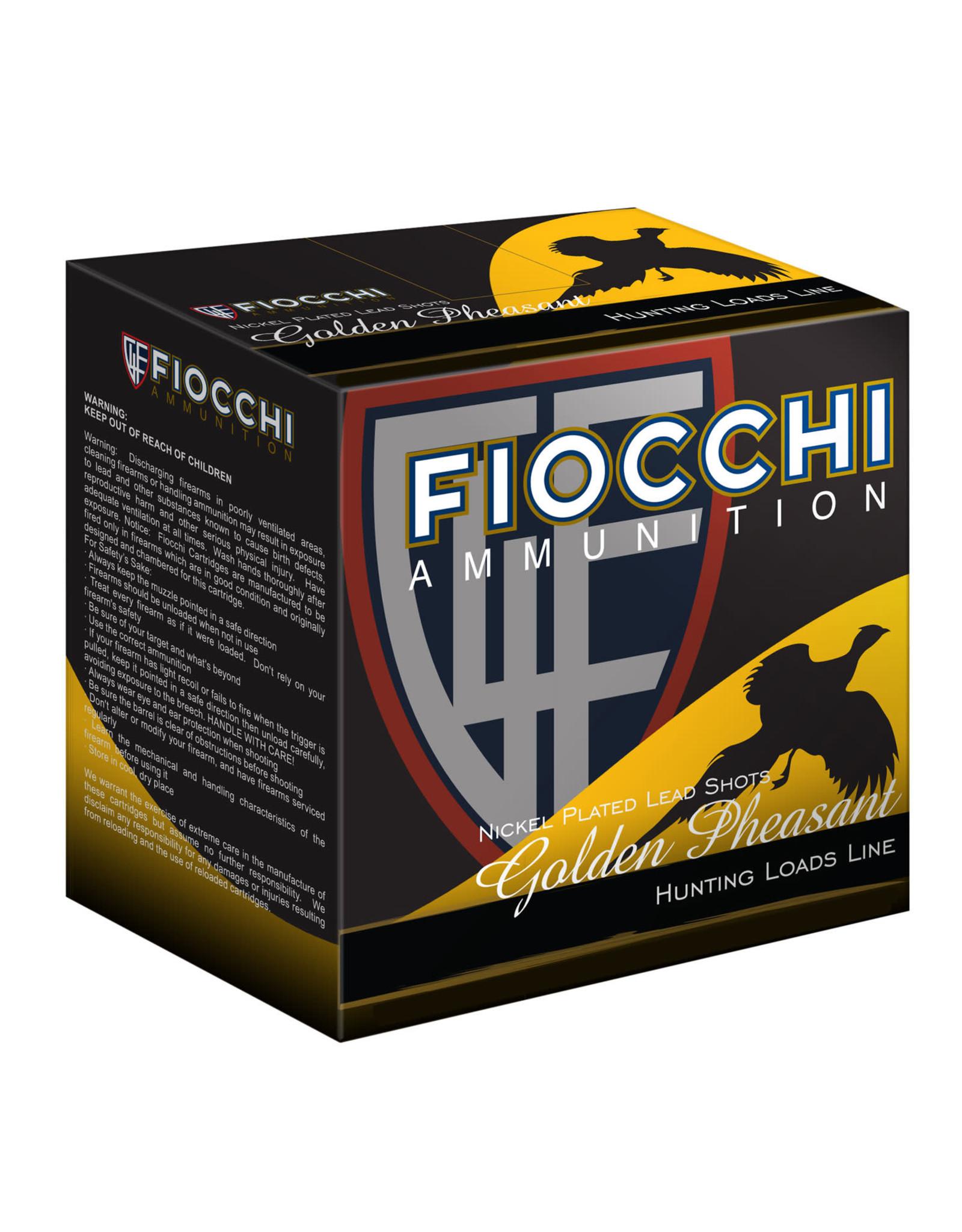 """Fiocchi Fiocchi 12 ga 2-3/4"""" 1-3/8 Oz. #4 1250 FPS"""